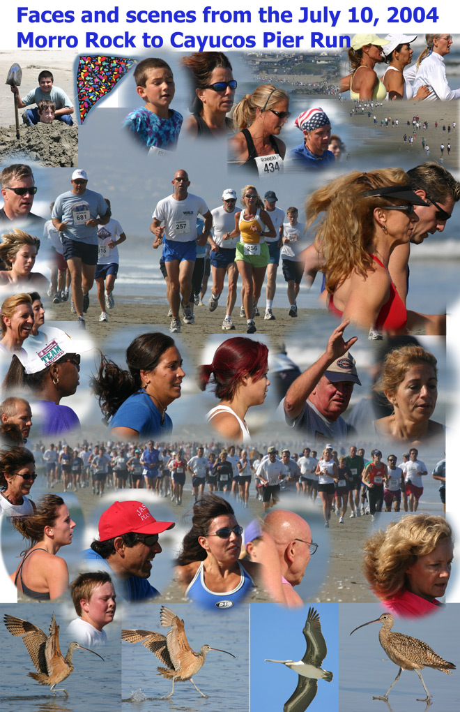 Faces and Scenes from the Morro Rock to Cayucos Pier Run July 10, ...