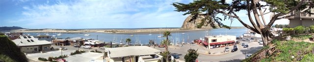 Morro Bay Waterfront Panorama by Red Truhitte
